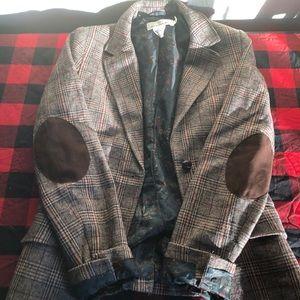 "H&M tweed ""professor"" blazer!"